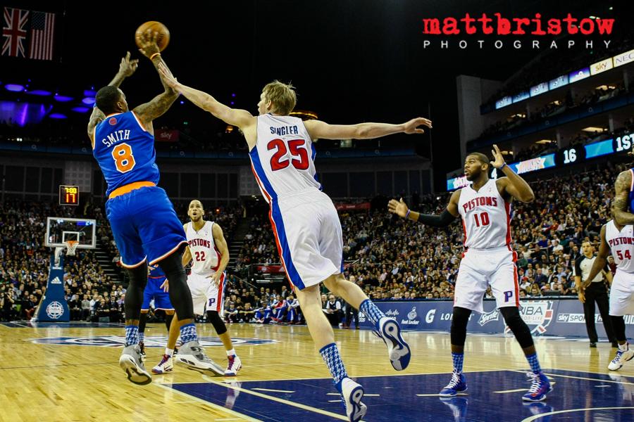 Detroit Pistons v New York Knicks, NBA, London 17 January 2013