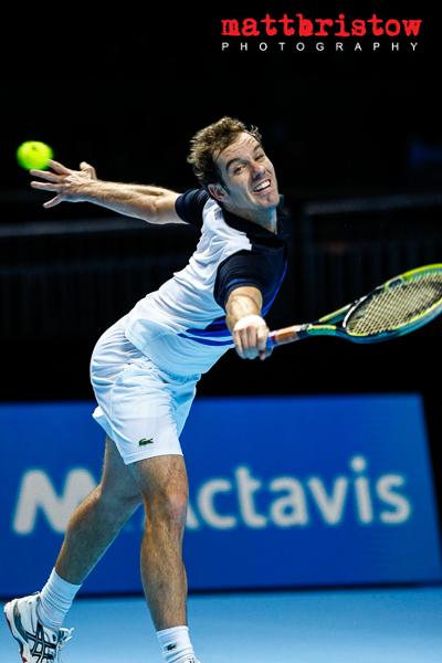 Barclays ATP World Finals- Richard Gasquet