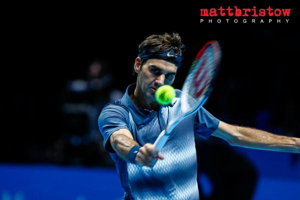 Barclays ATP World Finals - Roger Federer
