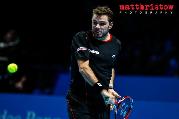 Barclays ATP World Finals 2013 - Stanislas Wawrinka