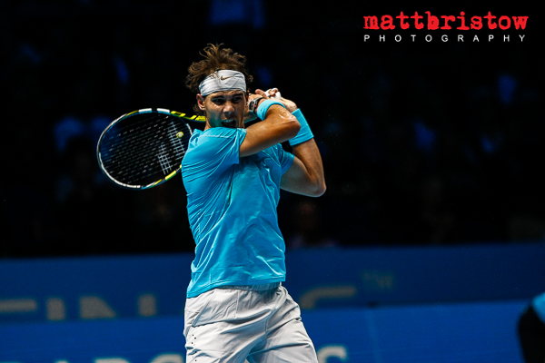 Barclays ATP World Finals 2013 - Rafael Nadal an extreme athelete