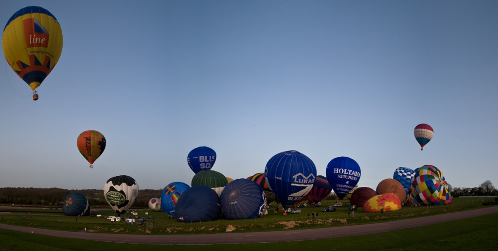 World record balloon channel crossing attempt