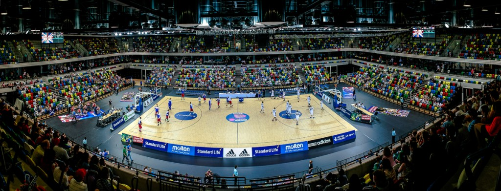 GB Mens Basketball V Peurto Rico, Copper Box Arena. August 2013